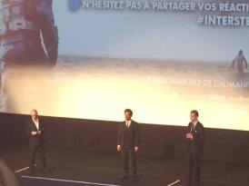 Christopher Nolan  Matthew McConaughey  Grand Rex - Paris
